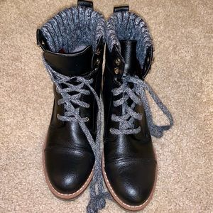 Tommy Hilfiger Combat Boots